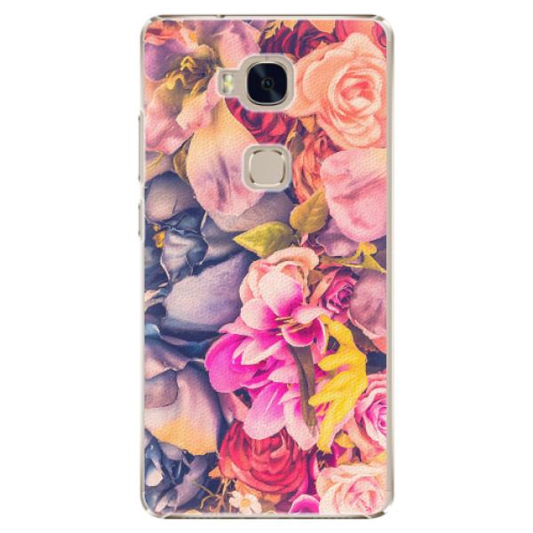 Plastové pouzdro iSaprio - Beauty Flowers - Huawei Honor 5X