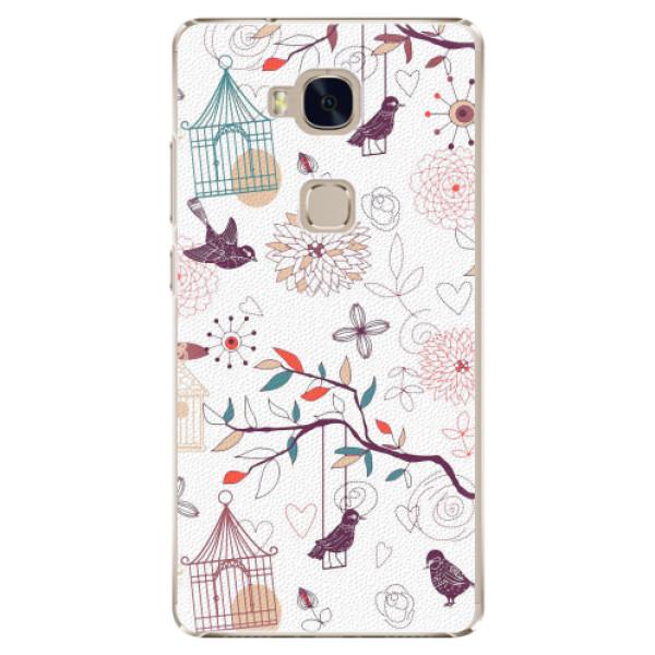 Plastové pouzdro iSaprio - Birds - Huawei Honor 5X