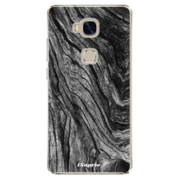 Plastové pouzdro iSaprio - Burned Wood - Huawei Honor 5X