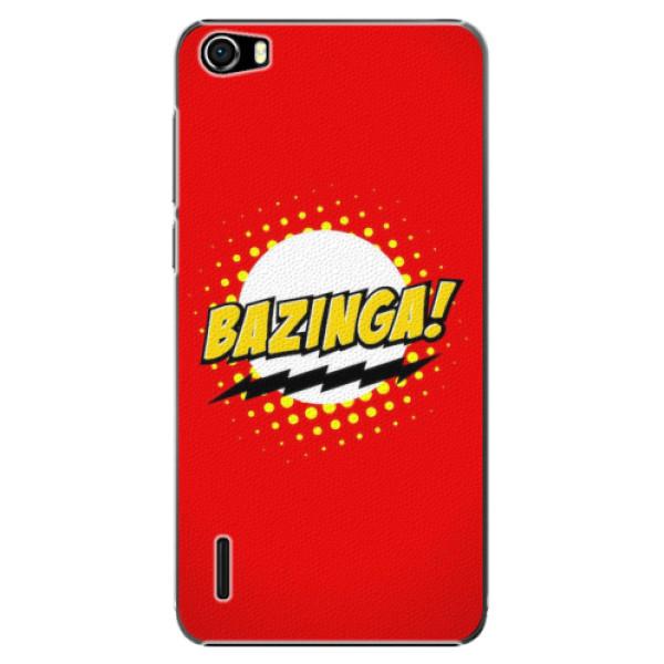 Plastové pouzdro iSaprio - Bazinga 01 - Huawei Honor 6