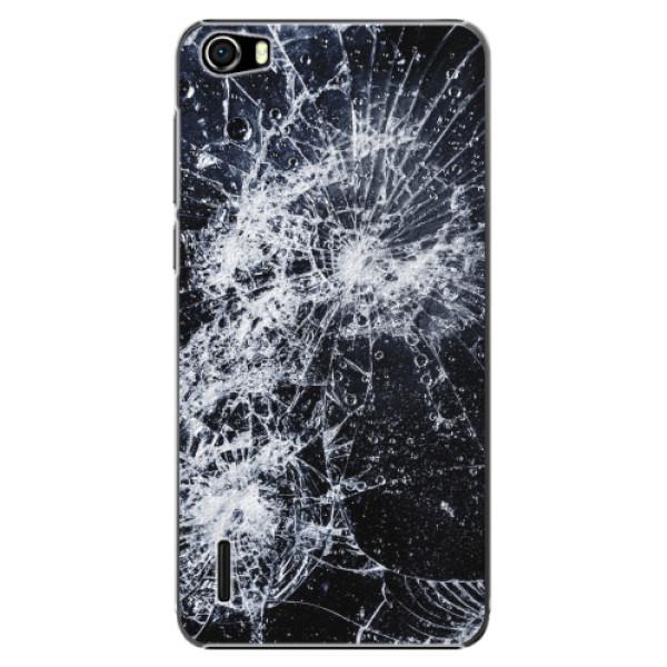 Plastové pouzdro iSaprio - Cracked - Huawei Honor 6