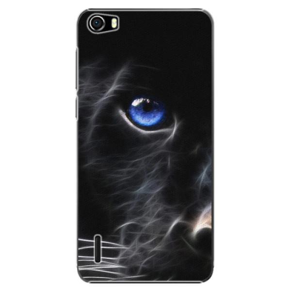 Plastové pouzdro iSaprio - Black Puma - Huawei Honor 6