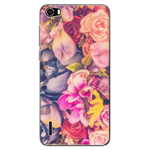 Plastové pouzdro iSaprio - Beauty Flowers - Huawei Honor 6