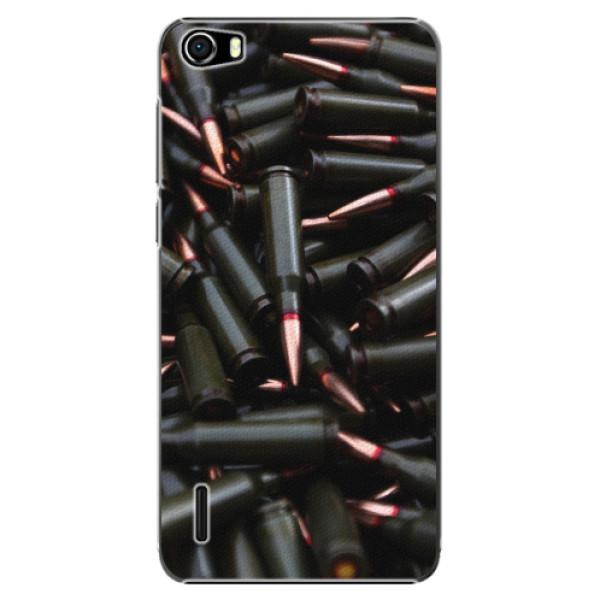 Plastové pouzdro iSaprio - Black Bullet - Huawei Honor 6