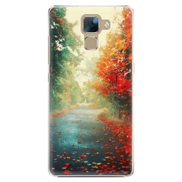 Plastové pouzdro iSaprio - Autumn 03 - Huawei Honor 7