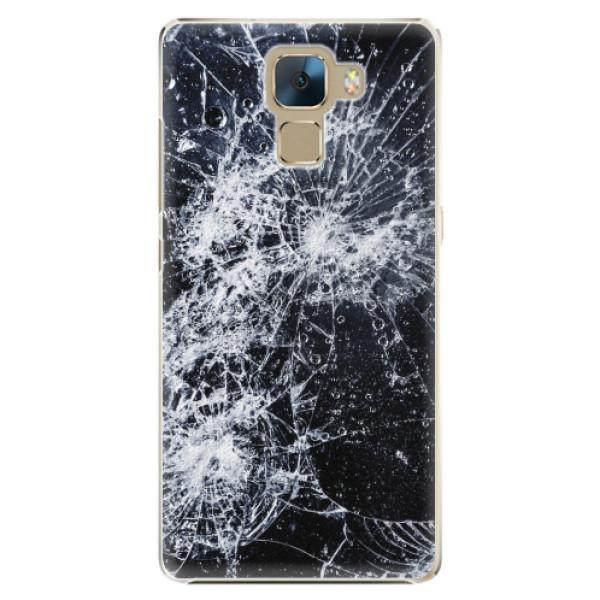 Plastové pouzdro iSaprio - Cracked - Huawei Honor 7