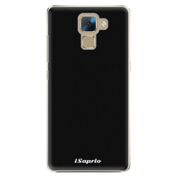Plastové pouzdro iSaprio - 4Pure - černý - Huawei Honor 7