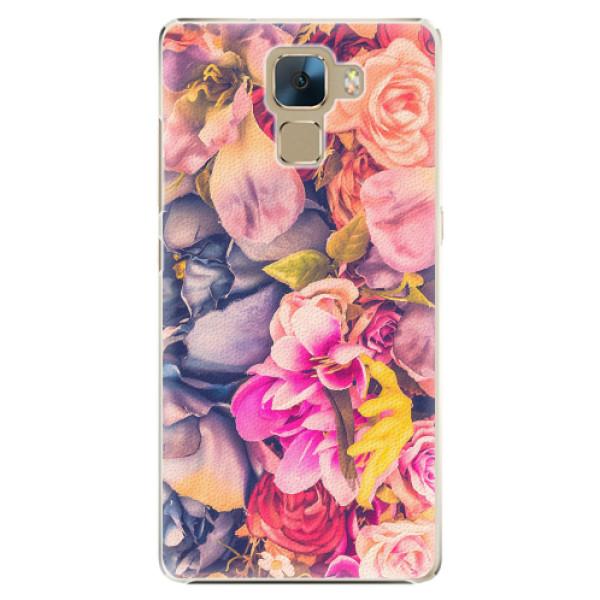 Plastové pouzdro iSaprio - Beauty Flowers - Huawei Honor 7