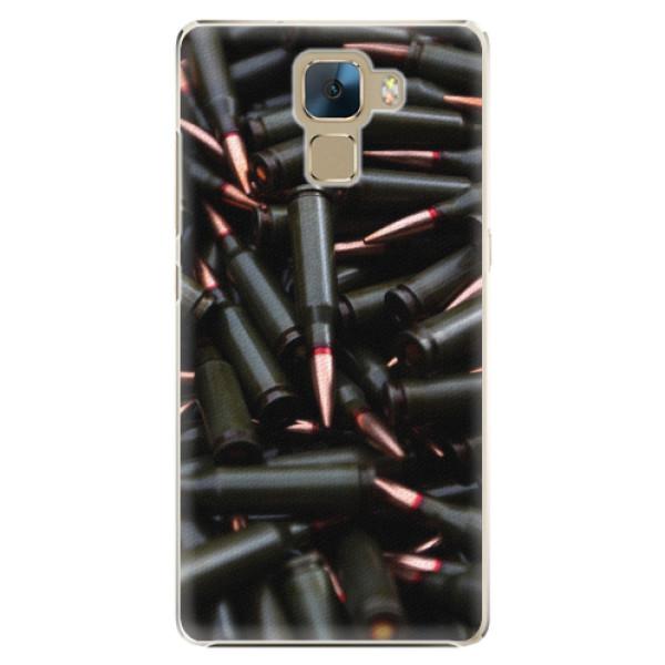 Plastové pouzdro iSaprio - Black Bullet - Huawei Honor 7