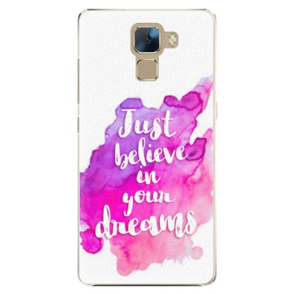 Plastové pouzdro iSaprio - Believe - Huawei Honor 7