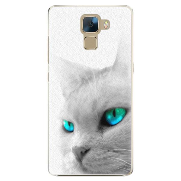 Plastové pouzdro iSaprio - Cats Eyes - Huawei Honor 7