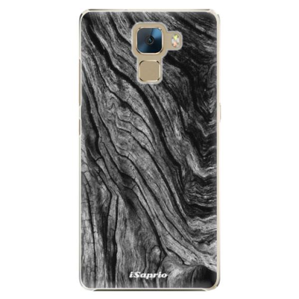 Plastové pouzdro iSaprio - Burned Wood - Huawei Honor 7