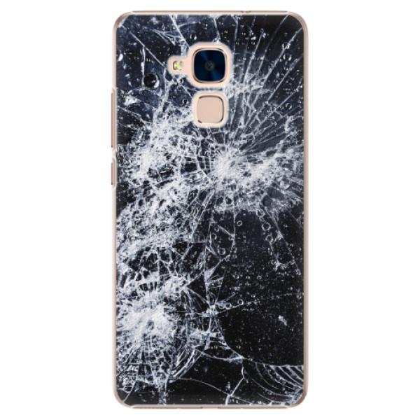 Plastové pouzdro iSaprio - Cracked - Huawei Honor 7 Lite