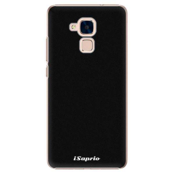 Plastové pouzdro iSaprio - 4Pure - černý - Huawei Honor 7 Lite