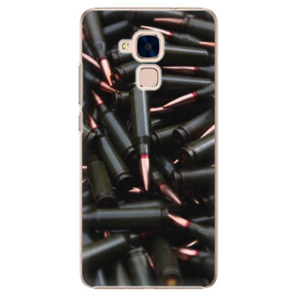 Plastové pouzdro iSaprio - Black Bullet - Huawei Honor 7 Lite