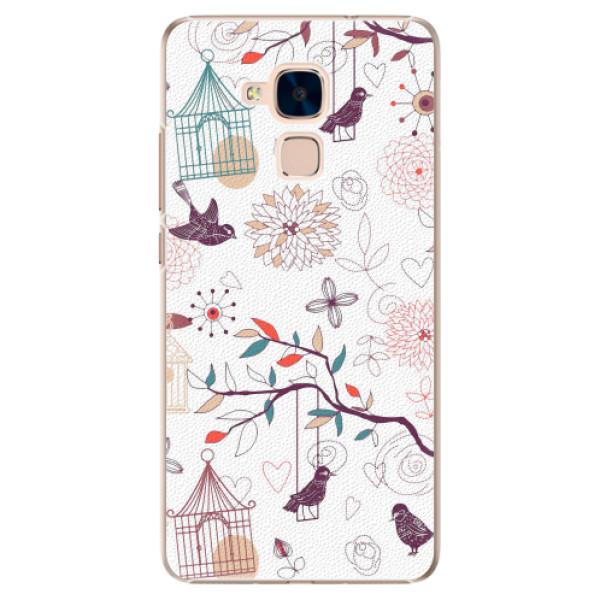 Plastové pouzdro iSaprio - Birds - Huawei Honor 7 Lite