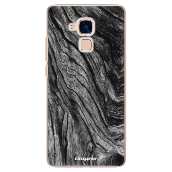 Plastové pouzdro iSaprio - Burned Wood - Huawei Honor 7 Lite