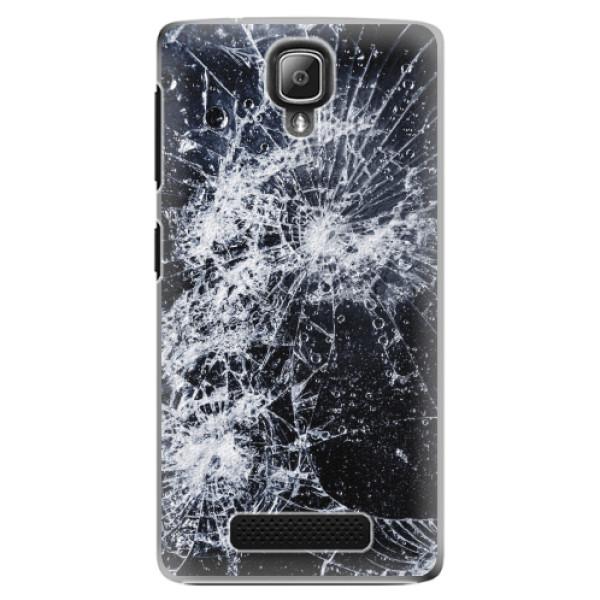 Plastové pouzdro iSaprio - Cracked - Lenovo A1000
