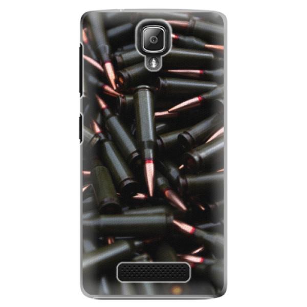 Plastové pouzdro iSaprio - Black Bullet - Lenovo A1000