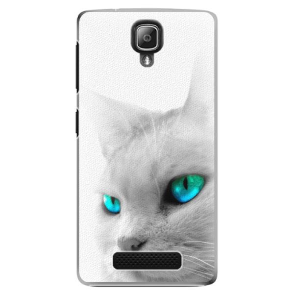 Plastové pouzdro iSaprio - Cats Eyes - Lenovo A1000