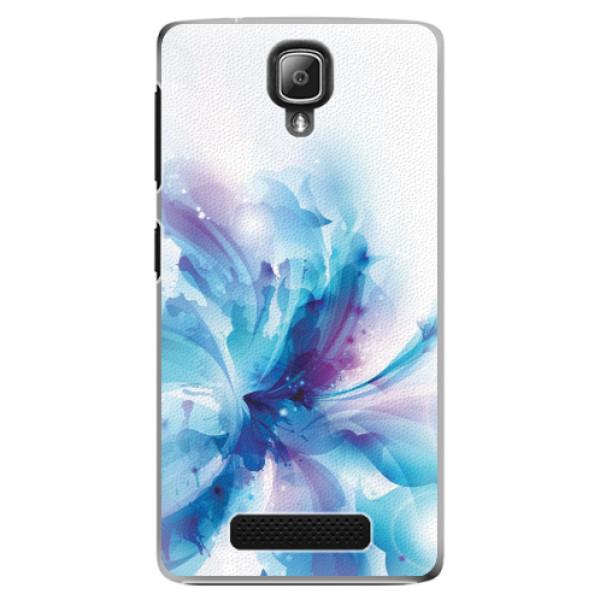 Plastové pouzdro iSaprio - Abstract Flower - Lenovo A1000