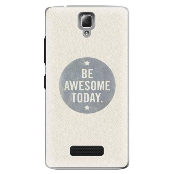 Plastové pouzdro iSaprio - Awesome 02 - Lenovo A2010