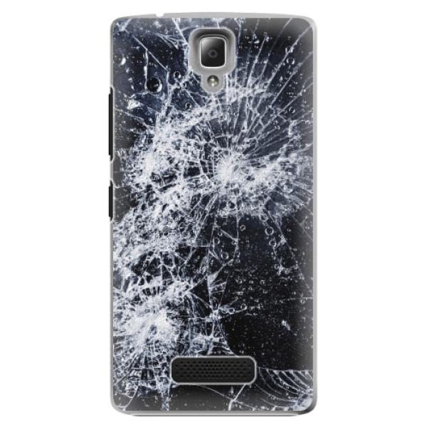 Plastové pouzdro iSaprio - Cracked - Lenovo A2010