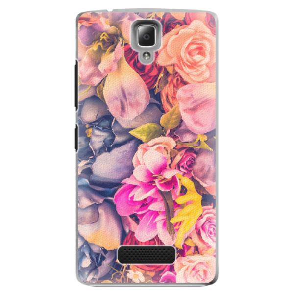 Plastové pouzdro iSaprio - Beauty Flowers - Lenovo A2010