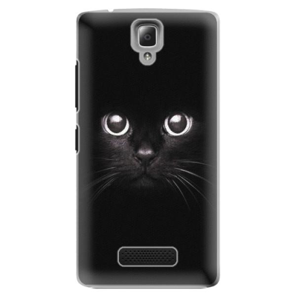 Plastové pouzdro iSaprio - Black Cat - Lenovo A2010