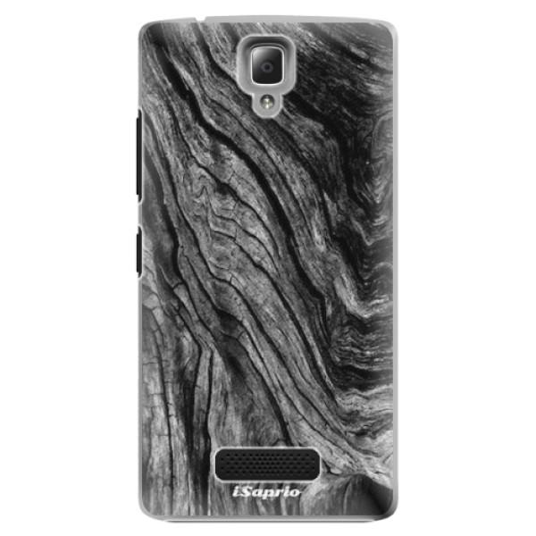 Plastové pouzdro iSaprio - Burned Wood - Lenovo A2010