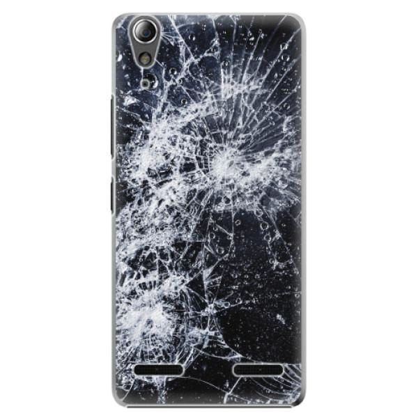 Plastové pouzdro iSaprio - Cracked - Lenovo A6000 / K3