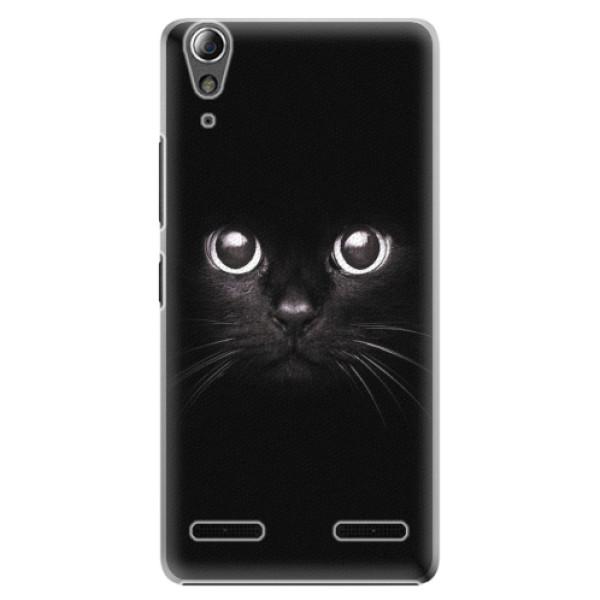 Plastové pouzdro iSaprio - Black Cat - Lenovo A6000 / K3