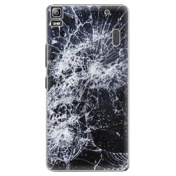 Plastové pouzdro iSaprio - Cracked - Lenovo A7000