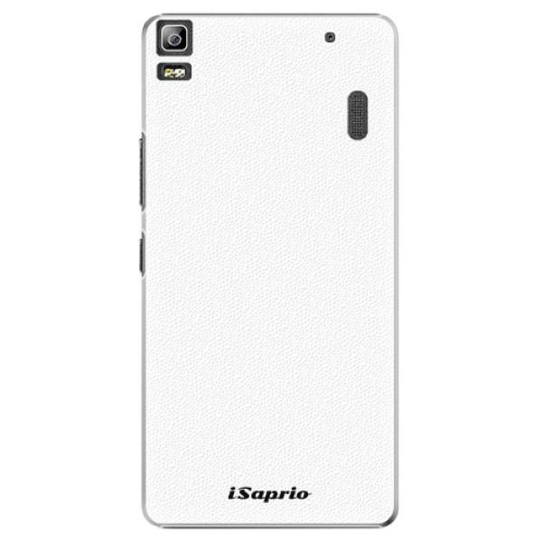 Plastové pouzdro iSaprio - 4Pure - bílý - Lenovo A7000