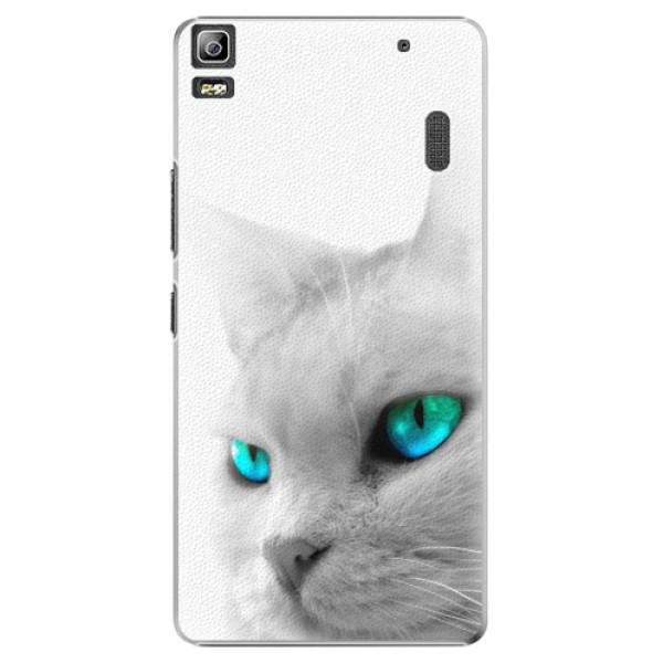 Plastové pouzdro iSaprio - Cats Eyes - Lenovo A7000