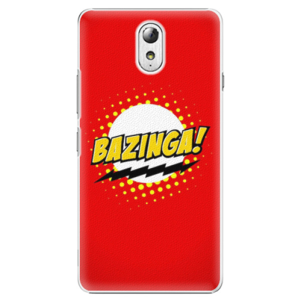 Plastové pouzdro iSaprio - Bazinga 01 - Lenovo P1m