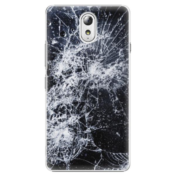 Plastové pouzdro iSaprio - Cracked - Lenovo P1m