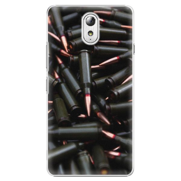 Plastové pouzdro iSaprio - Black Bullet - Lenovo P1m