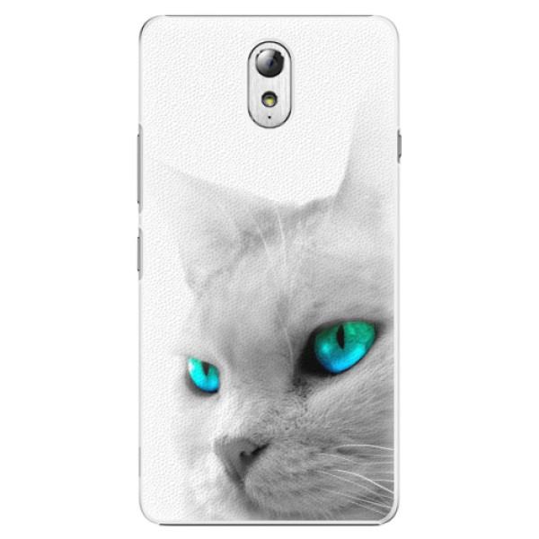 Plastové pouzdro iSaprio - Cats Eyes - Lenovo P1m