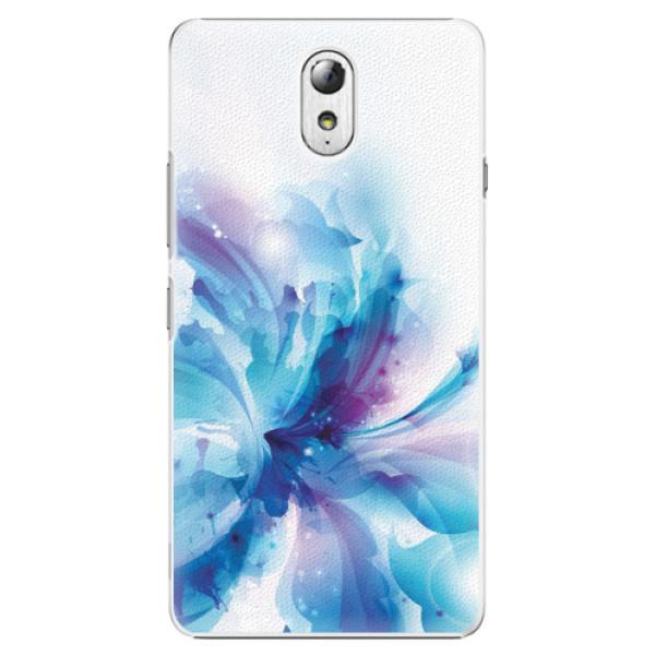 Plastové pouzdro iSaprio - Abstract Flower - Lenovo P1m