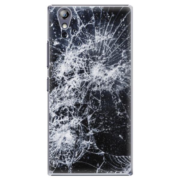 Plastové pouzdro iSaprio - Cracked - Lenovo P70