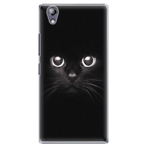 Plastové pouzdro iSaprio - Black Cat - Lenovo P70