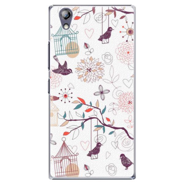 Plastové pouzdro iSaprio - Birds - Lenovo P70