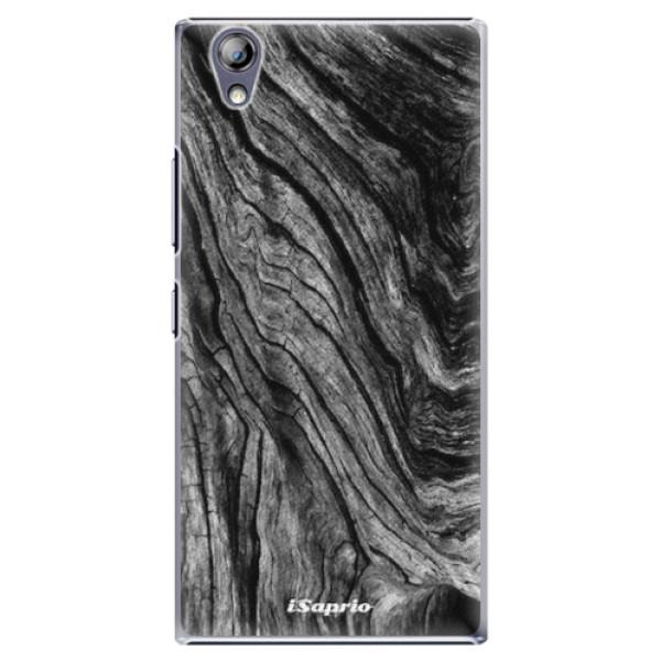Plastové pouzdro iSaprio - Burned Wood - Lenovo P70