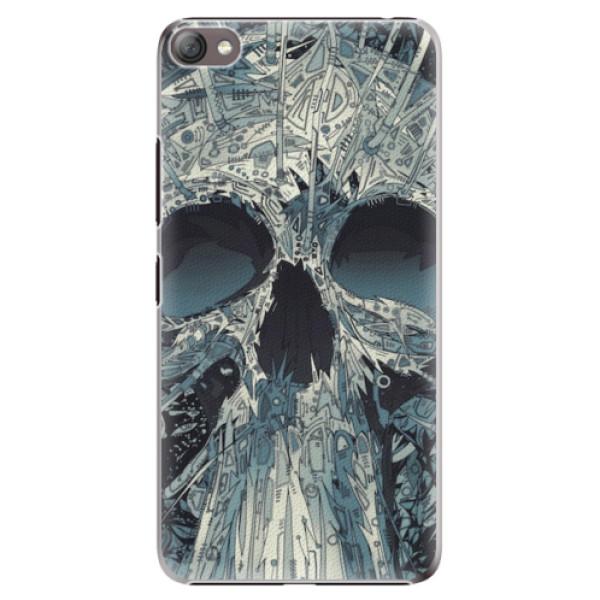 Plastové pouzdro iSaprio - Abstract Skull - Lenovo S60
