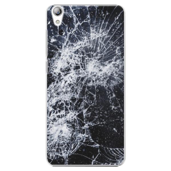 Plastové pouzdro iSaprio - Cracked - Lenovo S850
