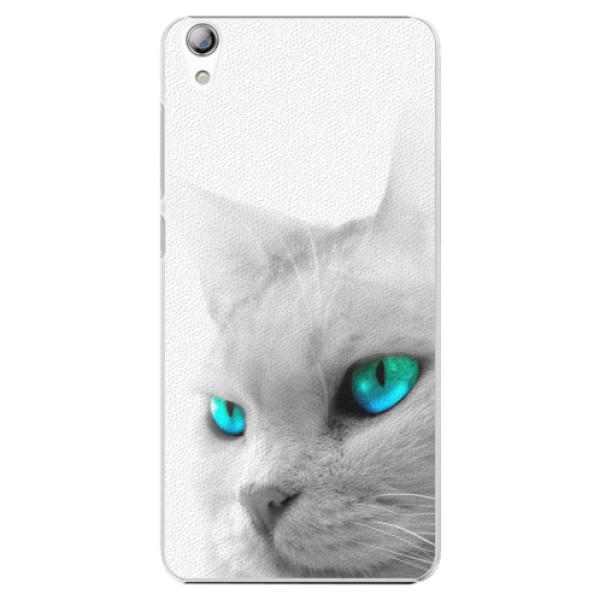 Plastové pouzdro iSaprio - Cats Eyes - Lenovo S850