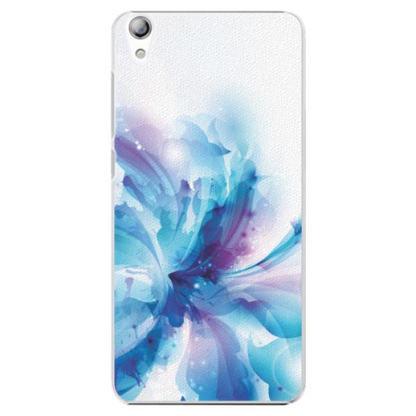 Plastové pouzdro iSaprio - Abstract Flower - Lenovo S850