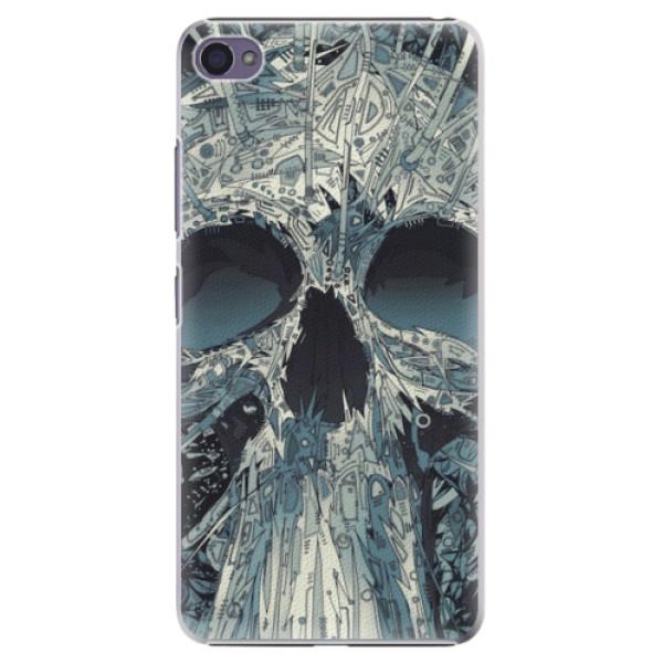 Plastové pouzdro iSaprio - Abstract Skull - Lenovo S90
