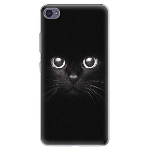 Plastové pouzdro iSaprio - Black Cat - Lenovo S90